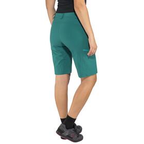 Löffler Comfort CSL - Bas de cyclisme Femme - vert/Bleu pétrole